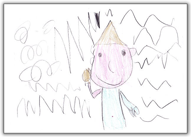 【寶貝作品集】懷謙。5歲1個月