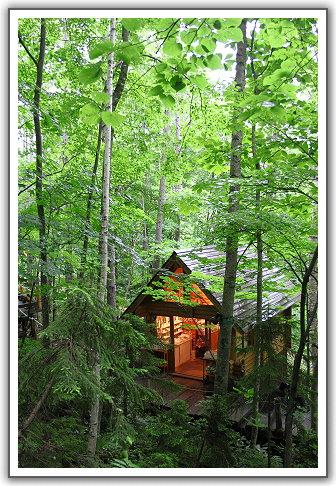 【2013‧北海道親子遊】(29)。Day 7。森林精靈的露臺(ニングルテラス Ninguru Terrace)‧森の時計咖啡屋