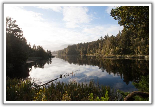 【2006‧紐西蘭蜜月行】(14) 。Day 13。馬松森湖 (Lake Matheson)