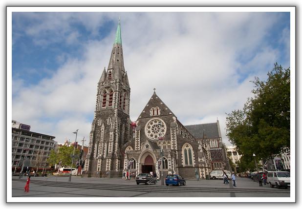【2006‧紐西蘭蜜月行】(15) 。Day 14。基督城大教堂。電車。纜車