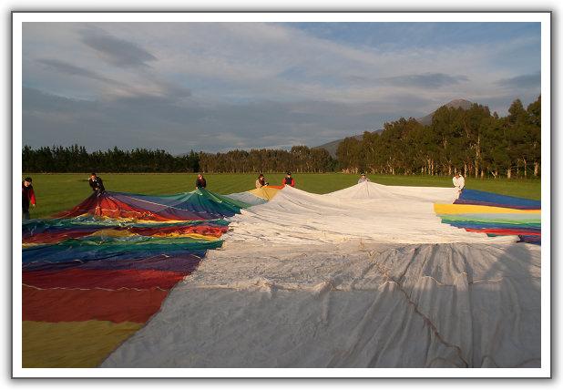 【2006‧紐西蘭蜜月行】(16) 。Day 15。熱氣球,起飛!
