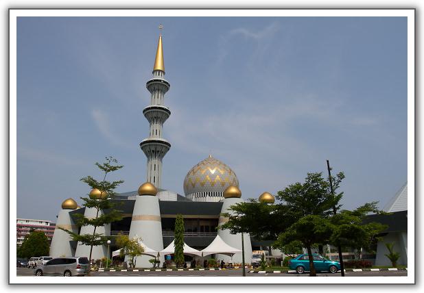 【2015‧沙巴山打根】(19)Day 8。沙巴州立清真寺。州立博物館