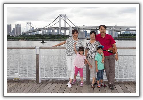 【2014‧東京箱根河口湖】(25)。Day 8。御台場。拜訪機器人界的金城武之超帥鋼彈