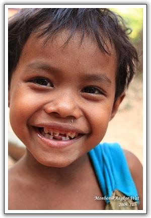 【2009‧吳哥窟】(18)。Day 4 童顏‧柬埔寨