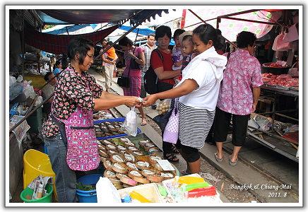 【2011‧泰國親子遊】(18)‧Day 8 。鐵道市場‧安帕瓦水上市場