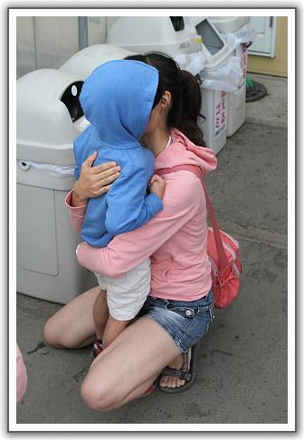 【2013‧北海道親子遊】(34)。後記。兒子走失了